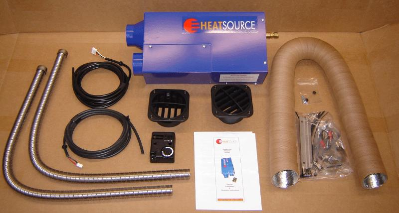 Small Vented Propane Heaters Westy Ventures / Propex heaters