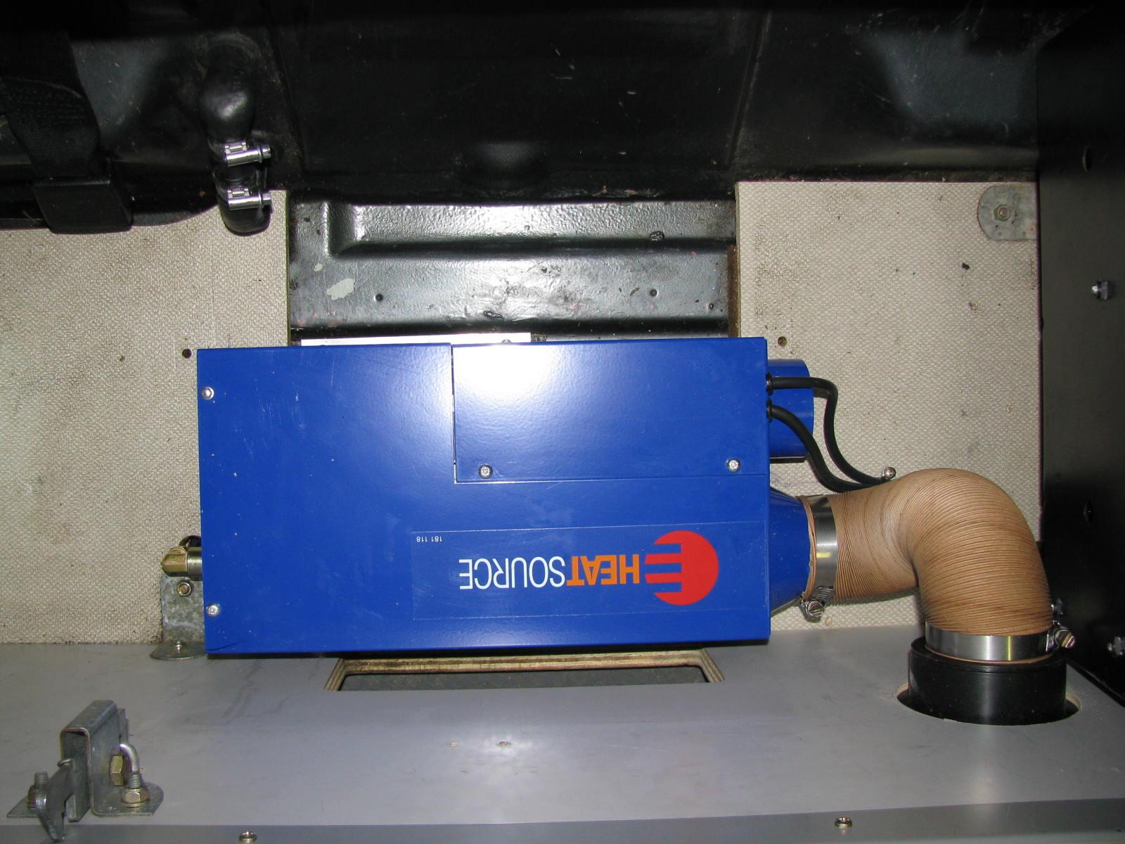 Westy Ventures Propex Heaters